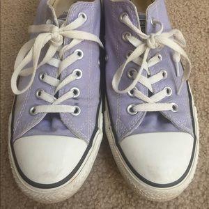 Light purple All Star Converse